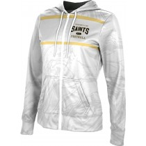 ProSphere Girls' D.I.A. Sports Ripple Fullzip Hoodie